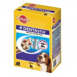 Pedigree DentaStix Multipack für mittelgroße Hunde 28 Stück