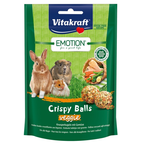 Vitakraft Emotion Crispy Balls Veggie 80g