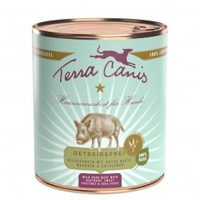 Terra Canis getreidefrei Wildschwein mit Roter Beete, Maronen & Chiasamen