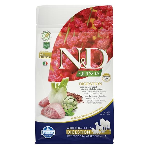 N&D Dog Quinoa Digestion Lamb