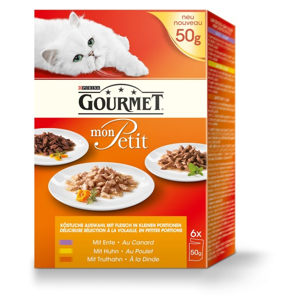 Gourmet Mon Petit Geflügel Variationen 6x50g