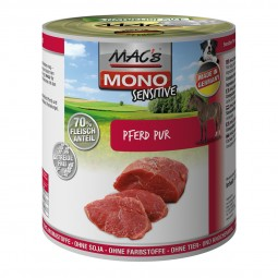 MAC's Dog Mono Hunde-Nassfutter Sensitiv Pferd Pur