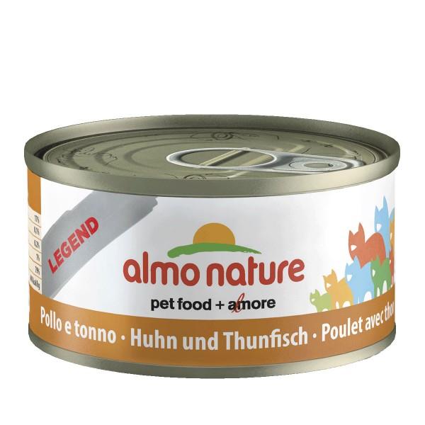 Almo Nature Katzenfutter 70g - Thunfisch & Huhn