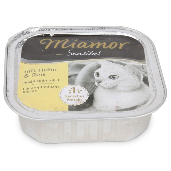 Miamor Katzenfutter Sensibel Huhn und Reis