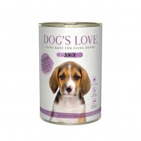 Dog's Love Junior Lamm mit Spinat und Kamille