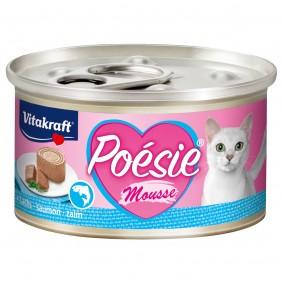 Vitakraft Katzenfutter Poésie Mousse Lachs 12x85g