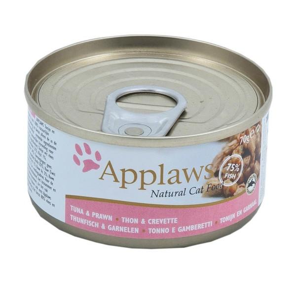 Applaws Cat Thunfischfilets & Garnelen