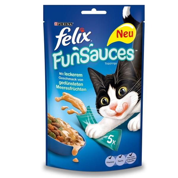 FELIX FunSauces Meeresfrüchtegeschmack 5x15g