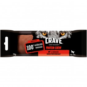 CRAVE Protein Chew mit Rind für mittelgroße Hunde (6-15kg)