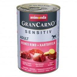 Animonda GranCarno Sensitiv reines Rind und Kartoffeln