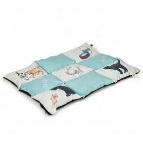 Trixie Patchwork Cat deka, 70 x 55 cm, mátová