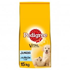Pedigree Junior kuře a rýže