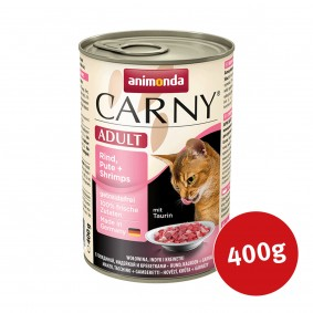 Animonda Katzenfutter Carny Adult Rind, Pute & Shrimps