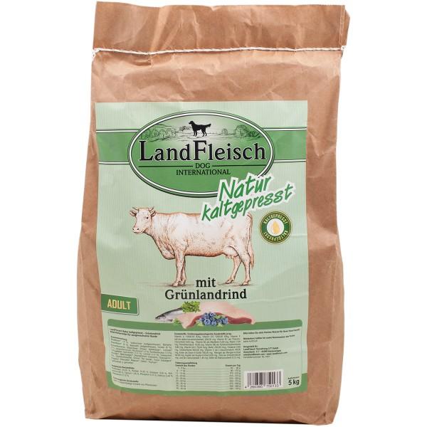 Landfleisch Dog Natur kaltgepresst Adult mit Grünlandrind
