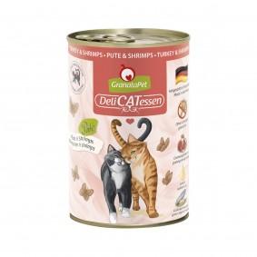 GranataPet Katze - Delicatessen Dose Pute & Shrimps