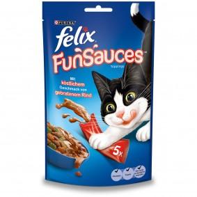FELIX FunSauces Rindgeschmack 5x15g 2+1 Gratis