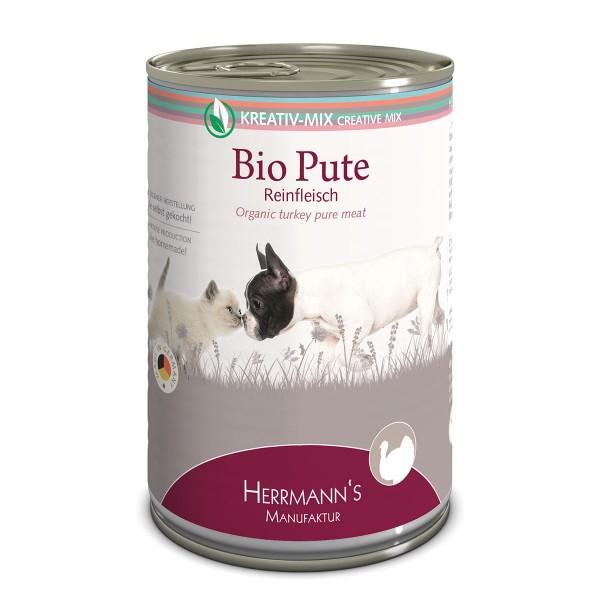 Herrmanns Bio Hunde- und Katzen-Ergänzungsfutter 100% Pute