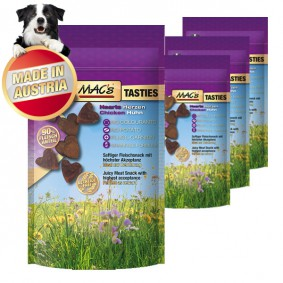MAC's Dog Hundesnack Tasties Hearts 4x60g