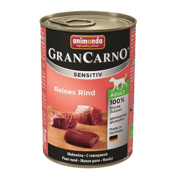 Animonda Hundefutter Grancarno Sensitiv Reines Rind