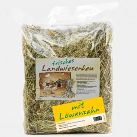 Naturhof Schröder Landwiesen Heu locker gestopft m. Löwenzahn 500 g