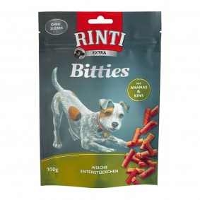 Rinti Extra Bitties mit Ananas und Kiwi