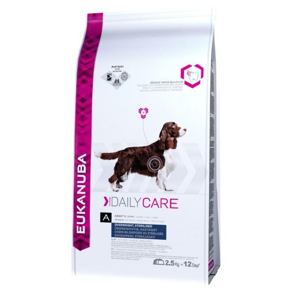 Eukanuba Care Hundefutter bei Übergewicht oder Kastration Huhn