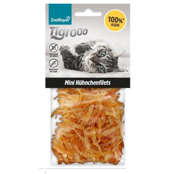 ZooRoyal Tigrooo Mini Hühnchenfilets Snack 50g