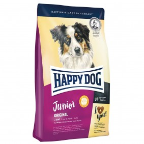 Happy Dog Supreme Young Junior Original 4kg+1kg GRATIS