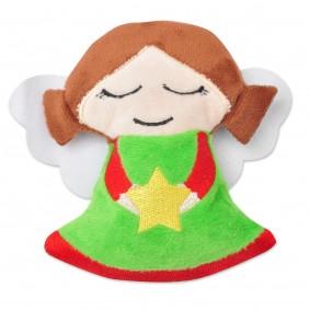 Aumüller Weihnachtsengel mit Baldrian & Dinkelspelz 13cm