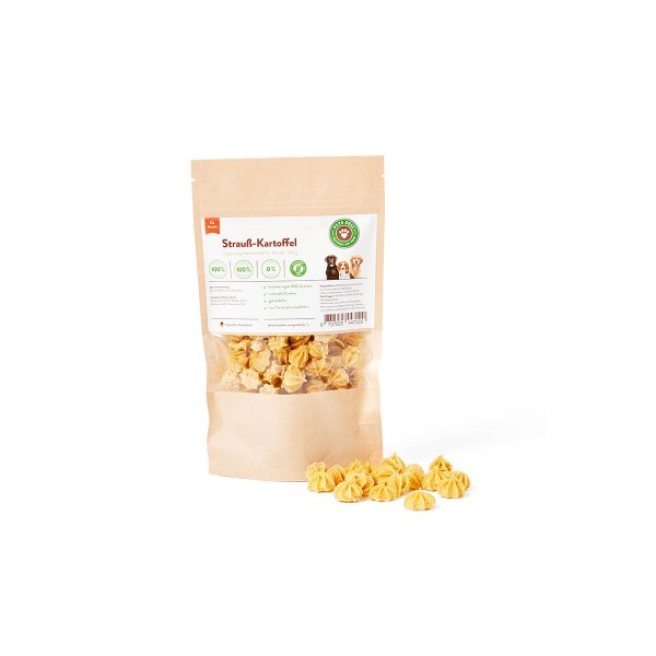 Pets Deli Hundesnack Strauß-Kartoffel Cookies 100g