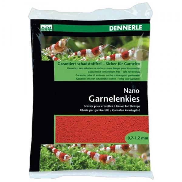 Dennerle Nano Garnelenkies Indisch rot 2kg