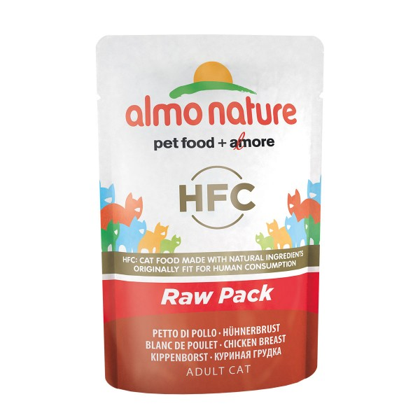 Almo Nature HFC Raw Pack Hühnerbrust