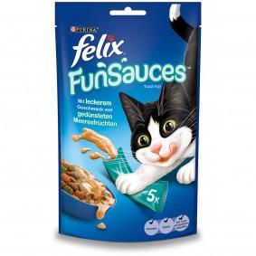 FELIX FunSauces Meeresfrüchtegeschmack 5x15g 2+1 Gratis