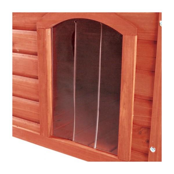 Porte en plastique pour niche à toit plat Natura XL