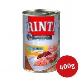 Rinti Nassfutter Kennerfleisch Junior mit Huhn