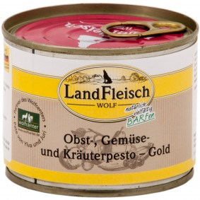 Landfleisch Dog Wolf Pesto Gold