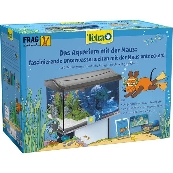 Tetra Das Maus LED Aquarium anthrazit