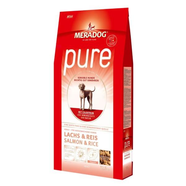 Mera Dog pure Lachs und Reis