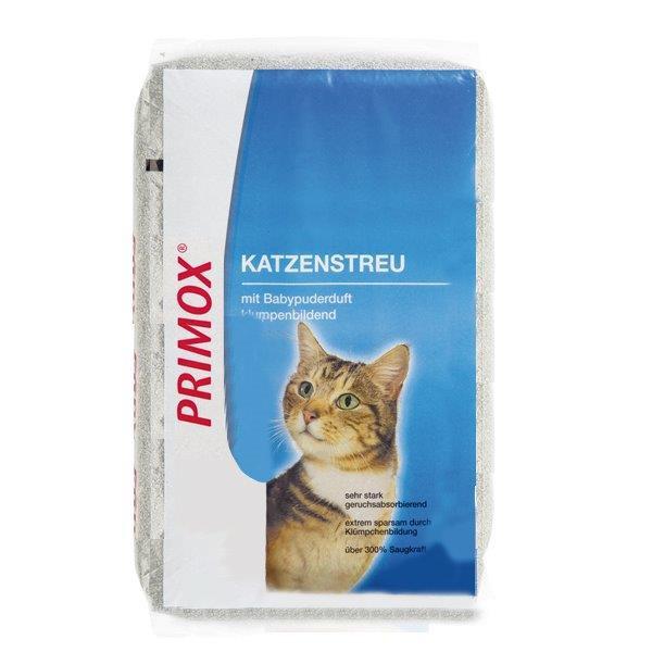 Primox Katzenstreu Babypuder - Katzenstreu Babypuderduft