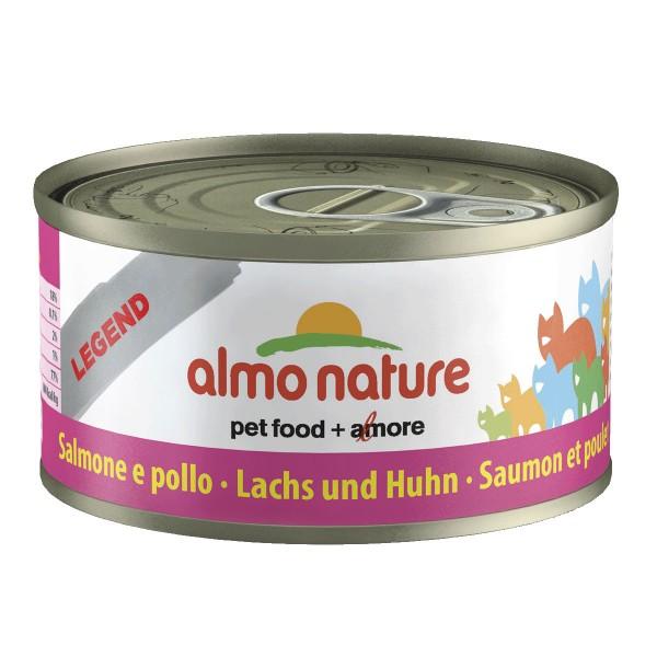 Almo Nature Katzenfutter 70g - Lachs & Huhn