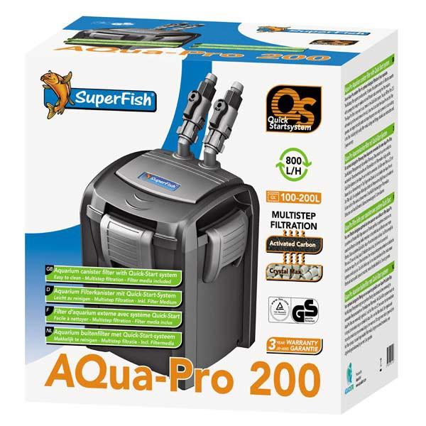 Superfish Außenfilter Aquapro QS