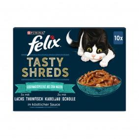 FELIX Tasty Shreds Geschmacksvielfalt aus dem Wasser