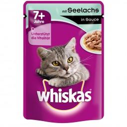 Whiskas Senior 7+ mit Seelachs in Sauce 24x100g