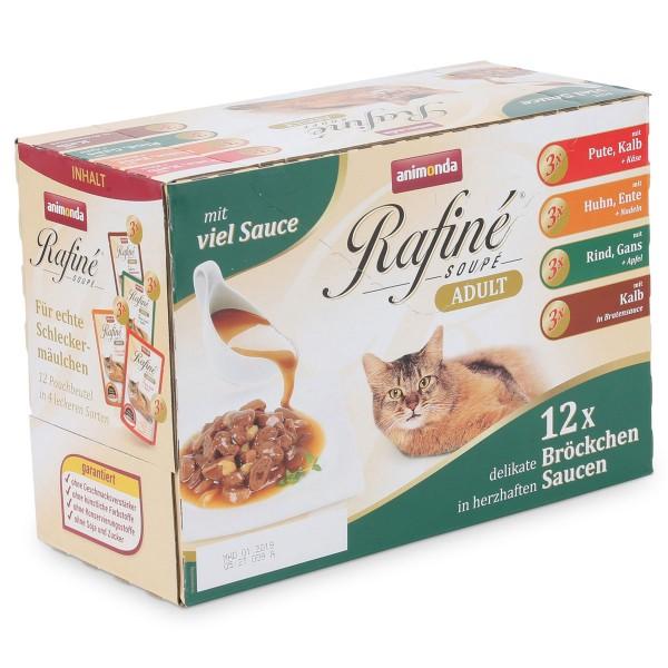 Animonda Katzenfutter Rafiné Soupé Multipack No.1 12x100g