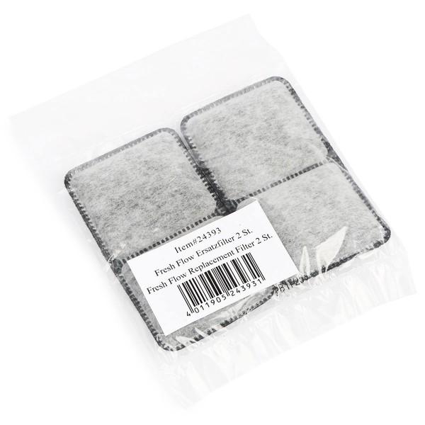 Trixie Fresh Flow Deluxe Ersatz-Kohlefilter 2 Pack
