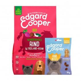 Edgard & Cooper Bio Rind & Bio Huhn 7kg + 50g Bites Rind gratis