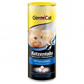 GimCat Katzentabs mit Fisch 210g