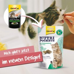 GimCat Nutri Pockets Katzenminze