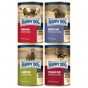 Happy Dog Pur 48x400g Mixpaket