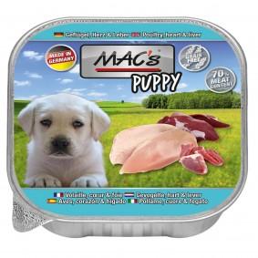 Mac's Dog Puppy Geflügel, Herz, Leber